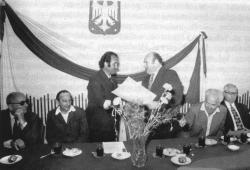 3 sierpnia 1973 roku - wręczenie dyplomu za III miejsce w kraju w 1972 roku.
